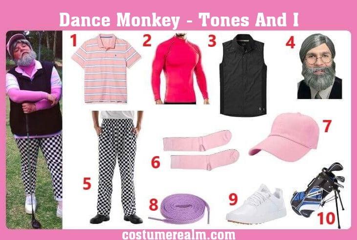 Tones And I Dance Monkey Cosplay