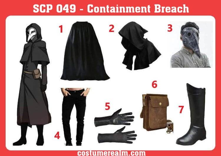 SCP-049 Costume