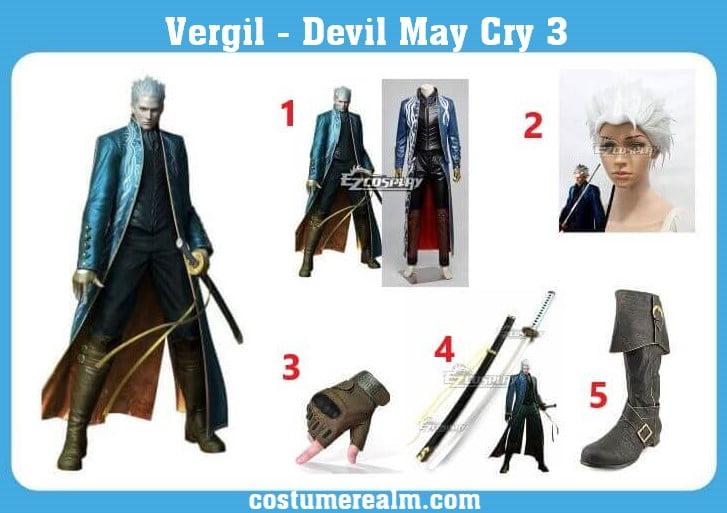 Vergil Costume