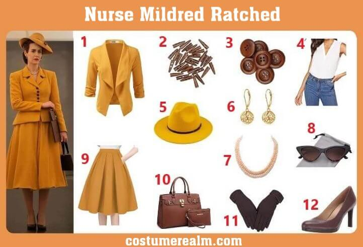 Mildred Ratched Costume