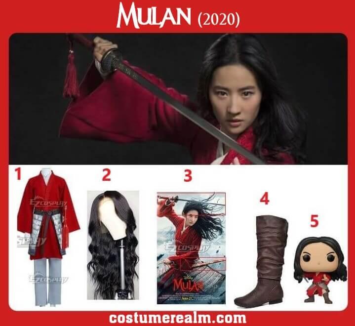 Best Mulan Costume Cosplay Halloween Costume Guide