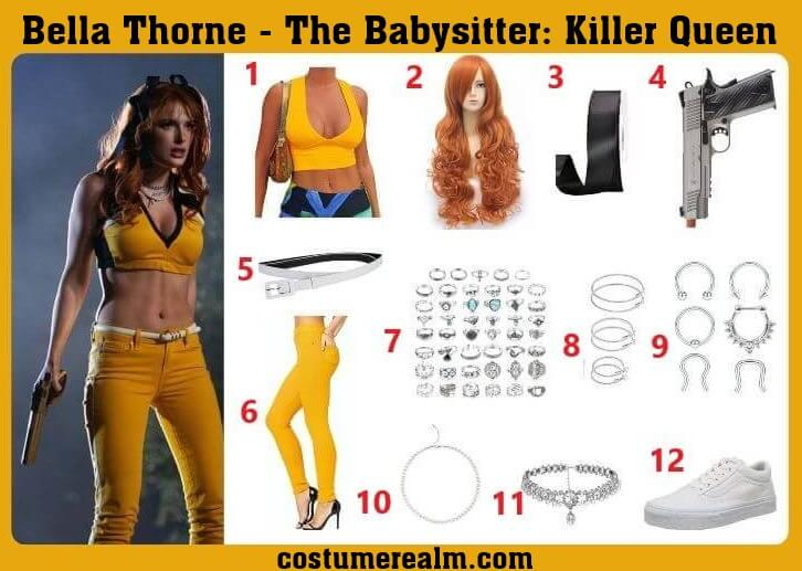 Babysitter Bella Thorne Outfits