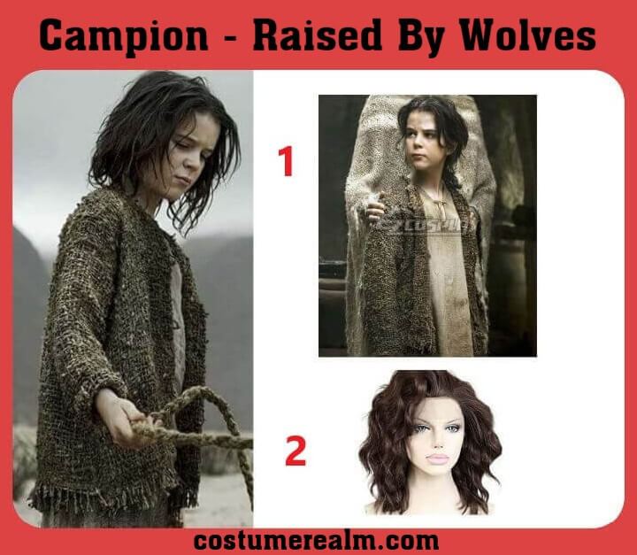 Raised by Wolves Campion Halloween Costume