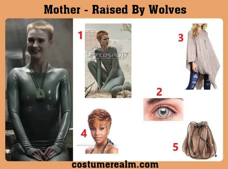 Raised By Wolves Mother Halloween Costume
