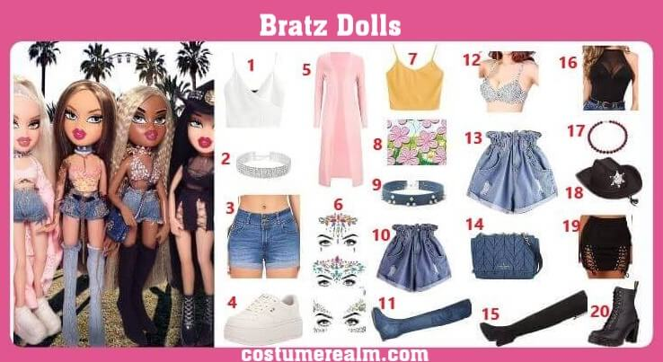 Bratz Doll Costume