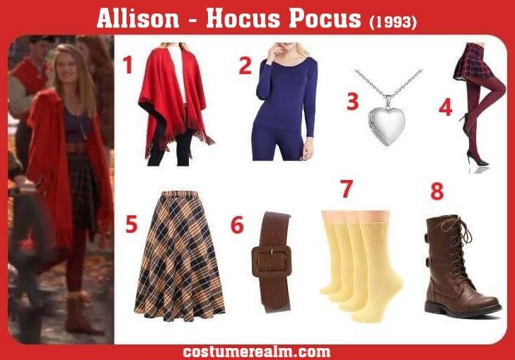 Dress Like Allison From Hocus Pocus