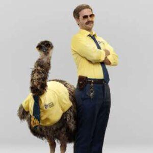 Limu Emu and Doug Cosplay