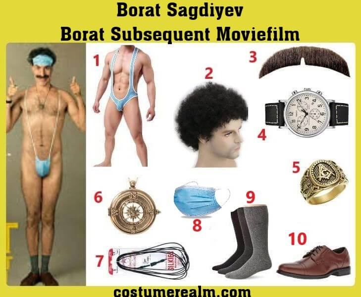 Borat 2 Costume