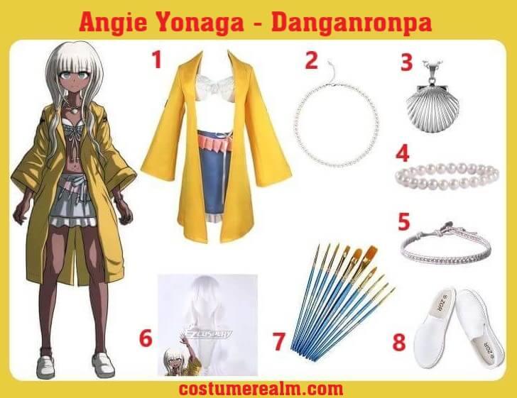Angie Yonaga Halloween Costume