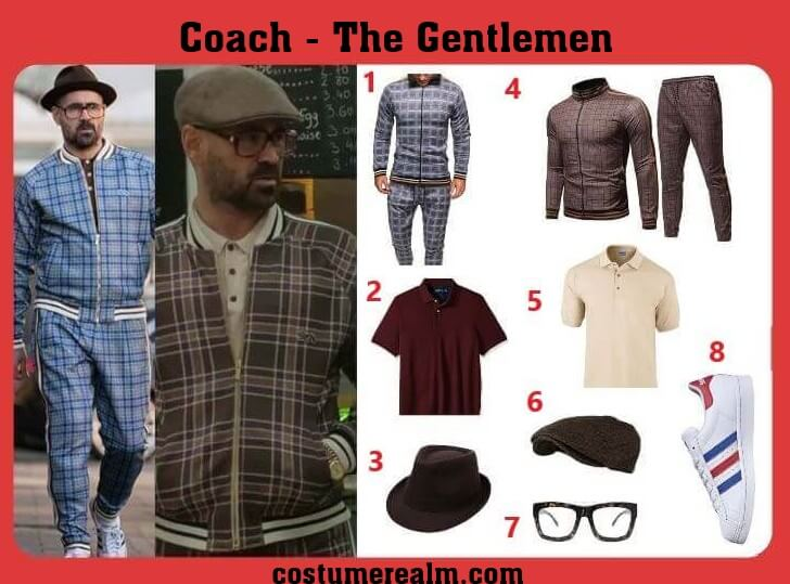 Gentlemen Coach costume