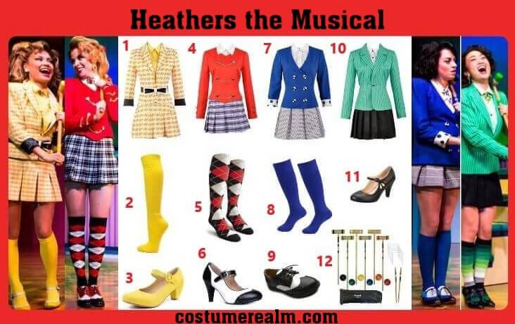 Heathers the Musical Costume