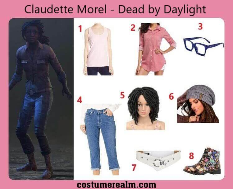 Claudette Morel Halloween Costume