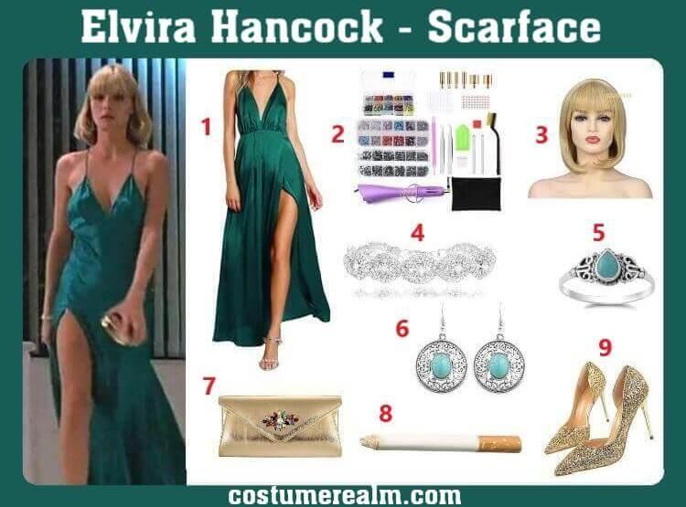 Elvira Hancock Costume