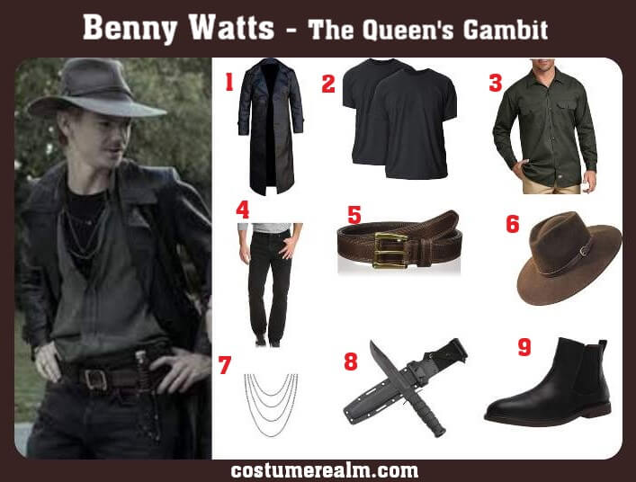 Benny Watts Costume