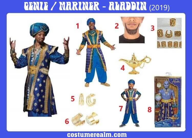 Will Smith Genie Costume