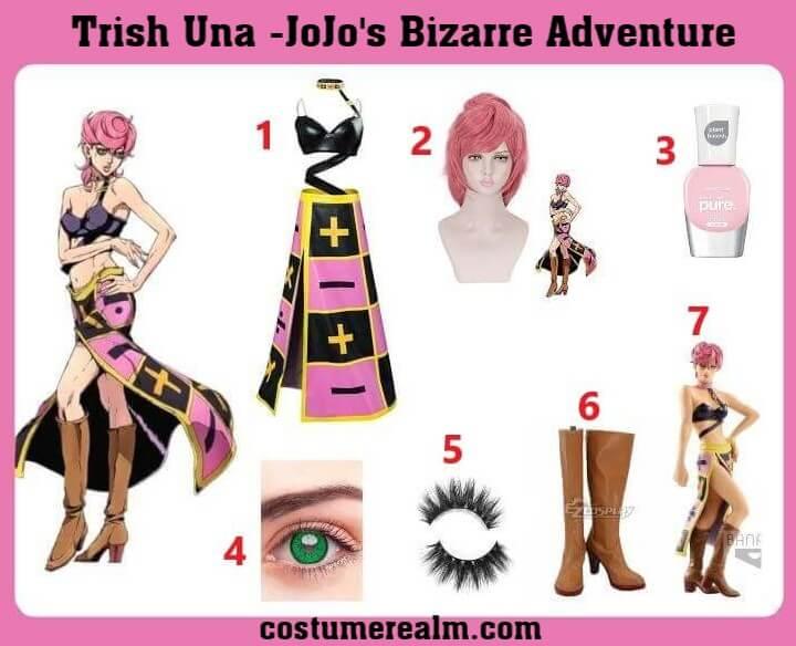 Trish Una Costume