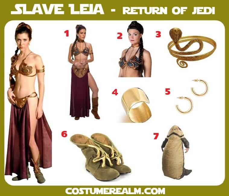Slave Leia Costume