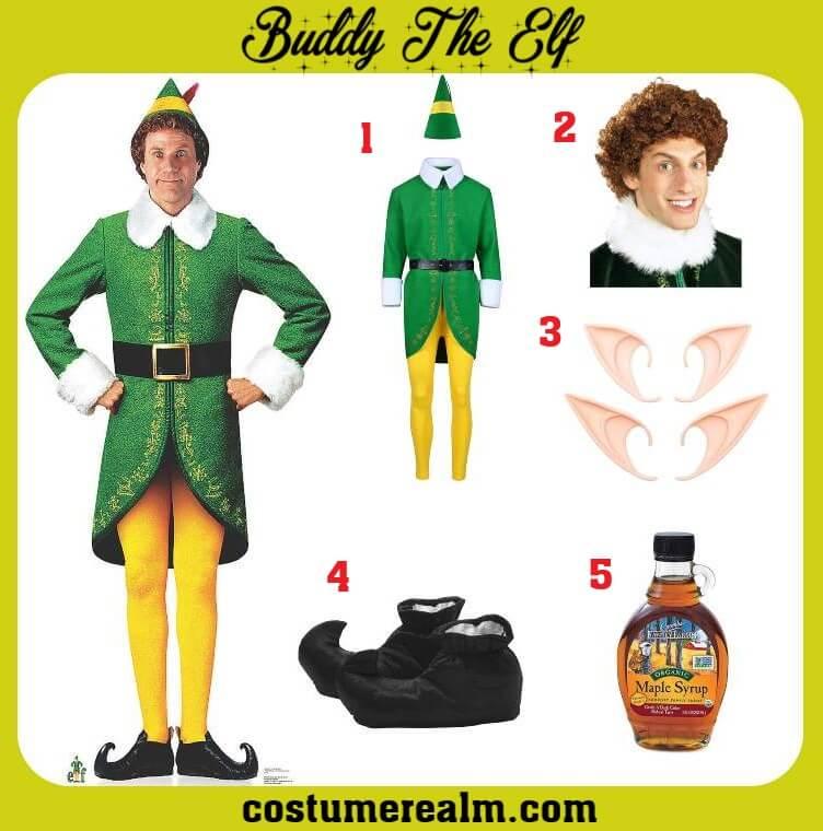 Buddy Elf Costume