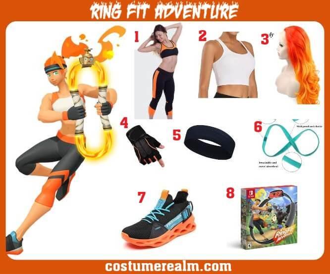 Ring Fit Adventure Costume