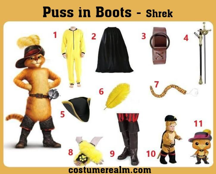 Puss in Boots Costume