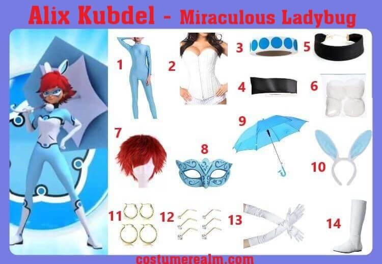 Alix Kubdel Costume