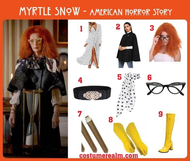 Myrtle Snow Costume
