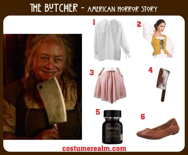 The Butcher Costume
