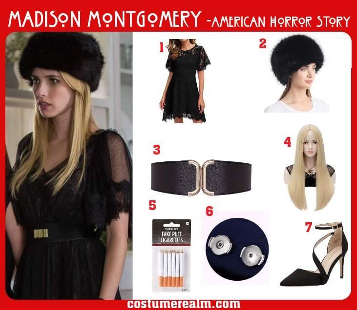 Madison Montgomery Costume