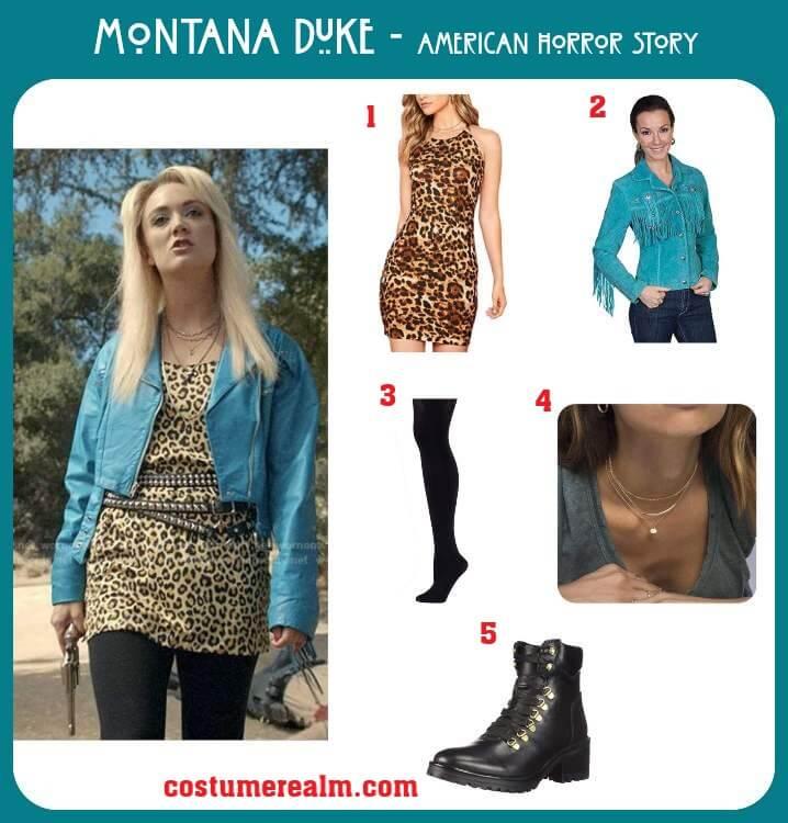 Montana Duke Costume