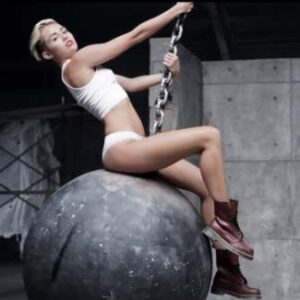 Miley Cyrus Wrecking Ball Outfit