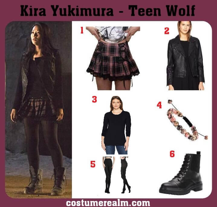 Kira Yukimura Outfits