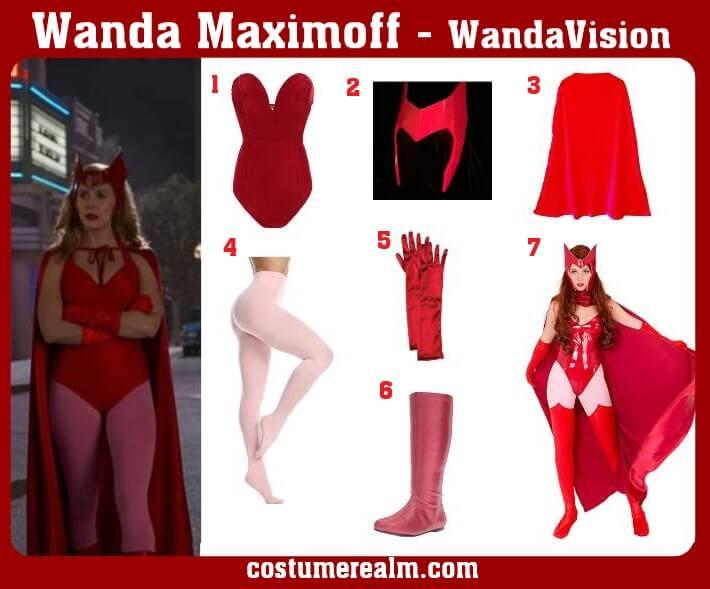 Wanda Maximoff Costume