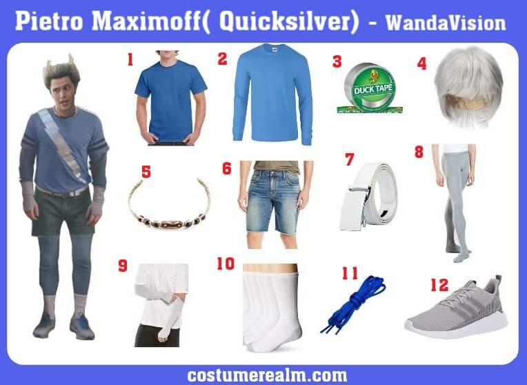 WandaVision Pietro Maximoff Costume