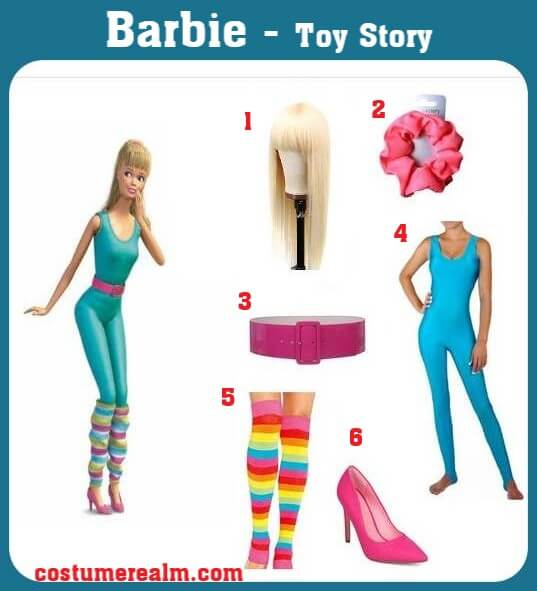 Toy Story Barbie Costume
