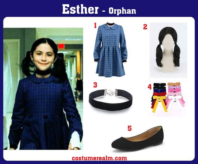 Orphan Esther Costume