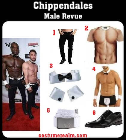 Chippendales Costume