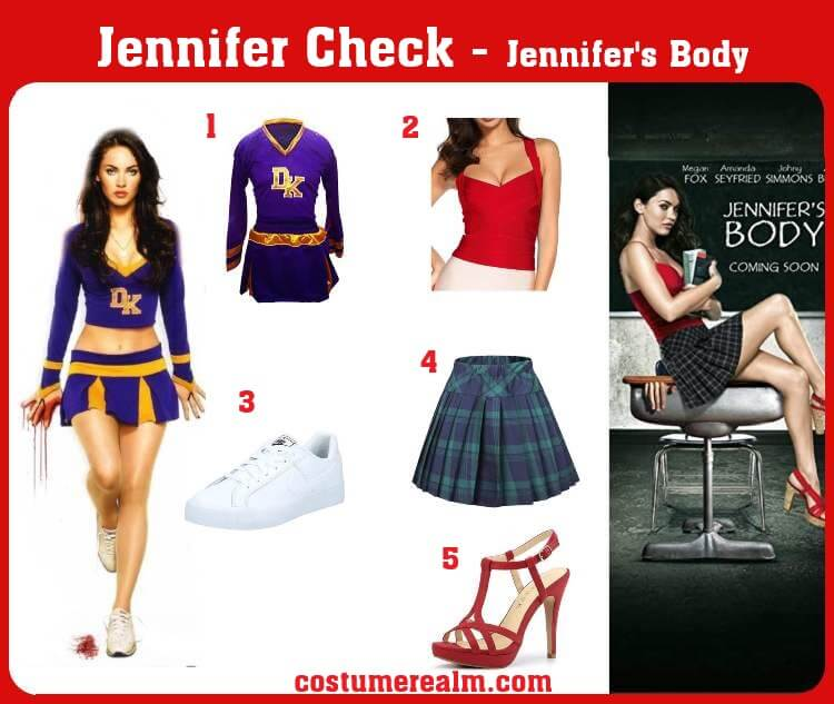 Jennifer's Body Costume