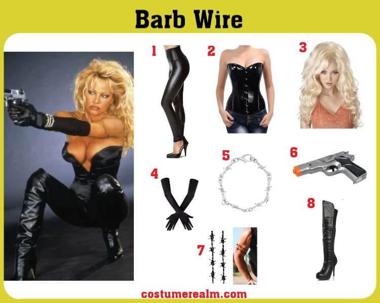 Barb Wire Costume