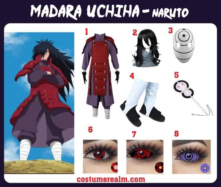 Madara Uchiha Cosplay