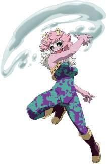 Mina Ashido Cosplay Outfit