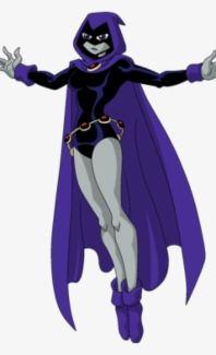 Teen Titan Raven Cosplay