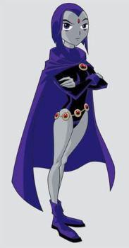 Teen Titan Raven Halloween Costume