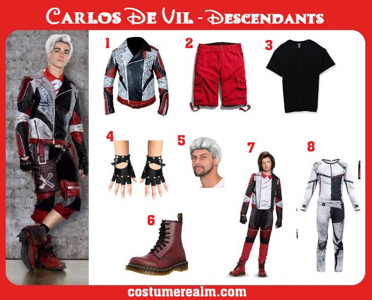 Carlos Descendants 2 Costume
