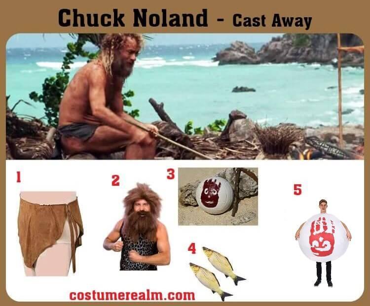 Chuck Noland Costume