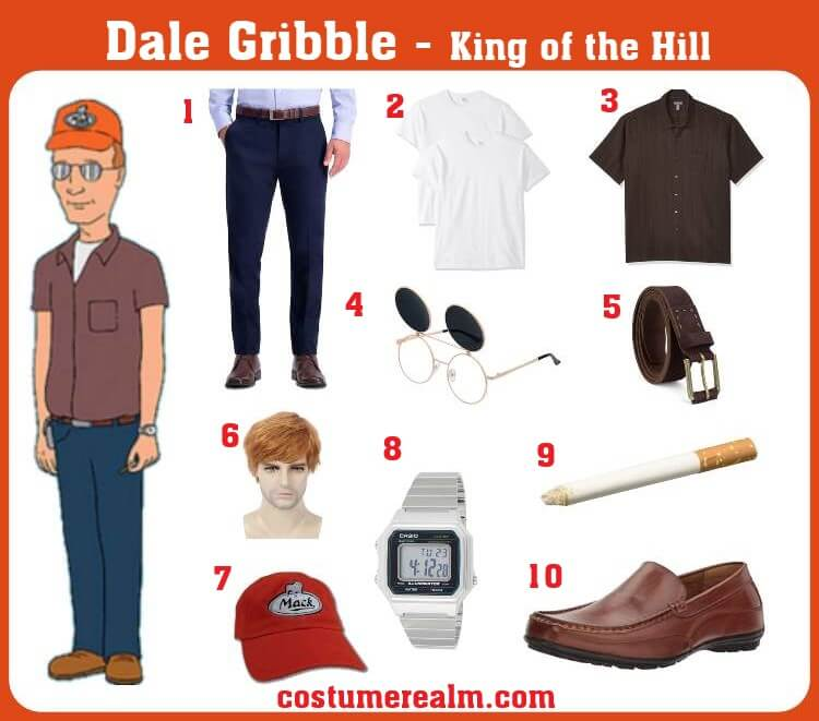 Dale Gribble Costume