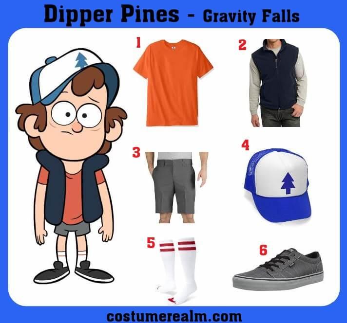 Dipper Pines Costume