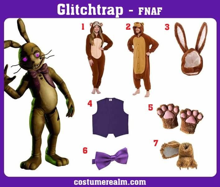 Glitchtrap Costume