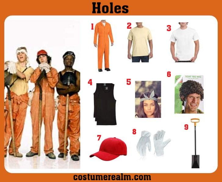 Holes Costume