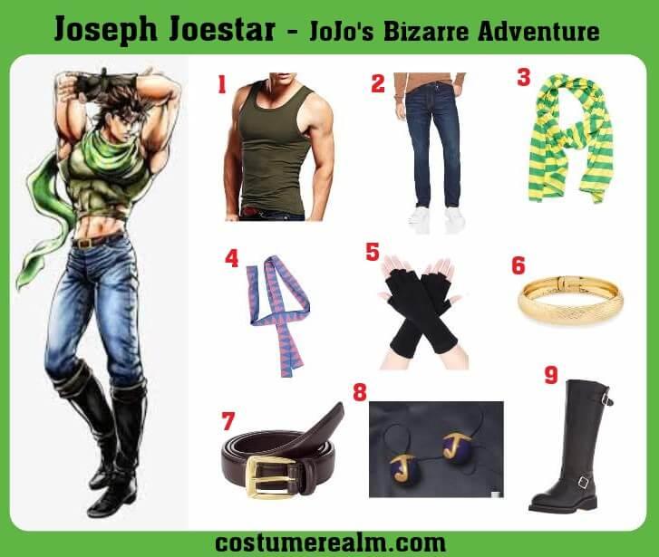 Joseph Joestar Costume