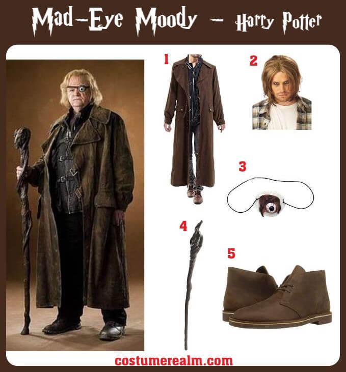 Mad Eye Moody Costume